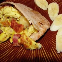 Breakfast Pita Pockets Recipe