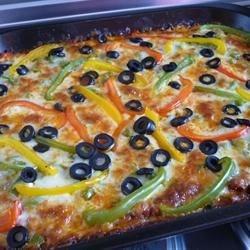 Zucchini Pizza Bake Recipe