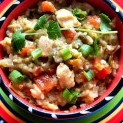 instant pot r green chili chicken and rice printer friendly