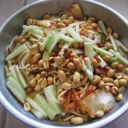 Photo of Cold Spicy Noodles (Leng Mian) by Tussah