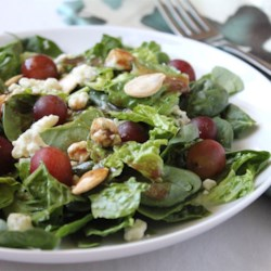 Blue Spinach Salad