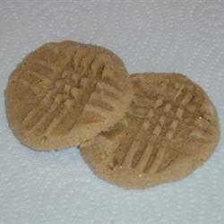 Flourless PB cookies