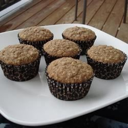 Photo of Maple Brown Sugar Oatmeal Muffins by Ash