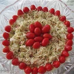 Photo of Red, White and Blue Slaw Salad by Marcy