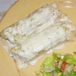 Chicken Manicotti Alfredo