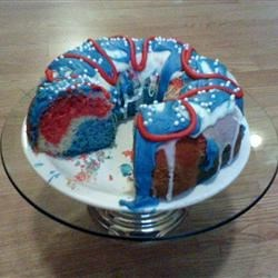 Firecracker Bundt Cake