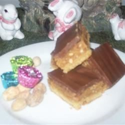 Chocolate Peanut Butter Bars I Recipe