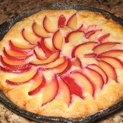 Photo of Plum Skillet Cake by Becky Hathaway