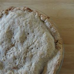 Earthquake Pie Crust