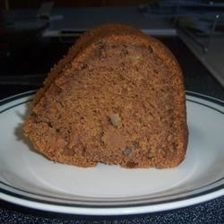 Spicy Carrot Cake Recipe