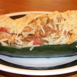 Mandy's Crab Stuffed Zucchini Recipe