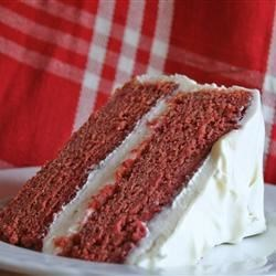All Natural Red Velvet Cake