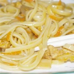 Family Favorite Chicken Lo Mein Recipe