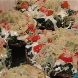 Vegetable-Stuffed Portobello Mushrooms Recipe