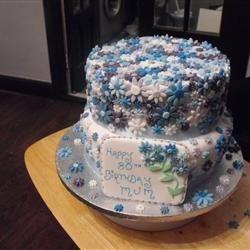 80th B/Day cake