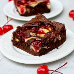 cherry cheesecake brownies printer friendly