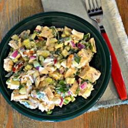 delicious cilantro chicken salad printer friendly