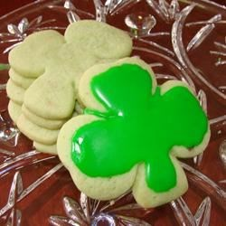 Photo of Irish Shamrock Cookies by MBMCD