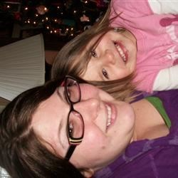 my neice and I!