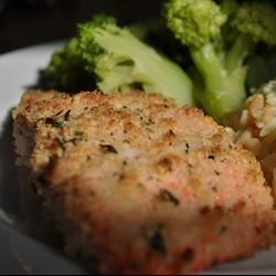 Oven-Fried Salmon