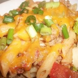 Ground Beef Mexican Style