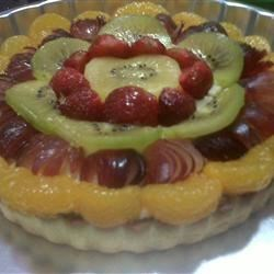 big fruit tart