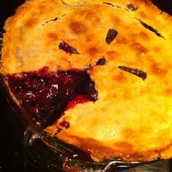 Deluxe Blackberry Pie Recipe