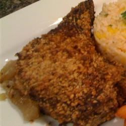 Apple-Maple Stuffed Pork Chops Recipe