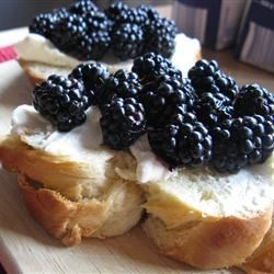 on mascarpone and brioche