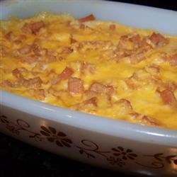 Mrs. Payson's SPAM(R) and Grits Brunch Casserole