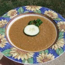 Gazpacho a la Mrs. Landesman Recipe