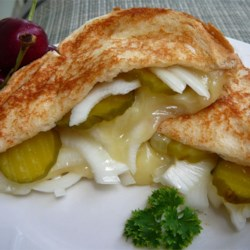 Grilled Cheese, Pickle and Vidalia Onion Sandwich Recipe