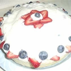 Red, White, and Blueberry Shortcake Recipe