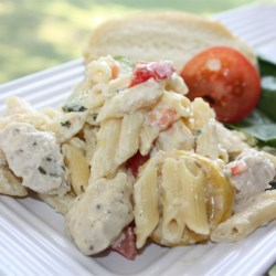 Summer Squash Chicken Alfredo Recipe