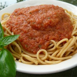 Cold Spaghetti Recipe