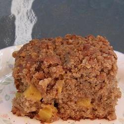 Avon's, End of Summer Sunday Morning Peach Coffee Cake