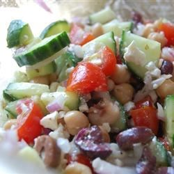 Greek Garbanzo Bean Salad
