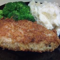 Parmesean Sage Pork Chops