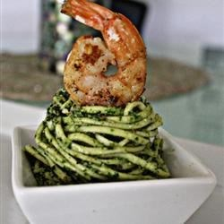 Elizabeth's Pesto with a Southern Twist Recipe