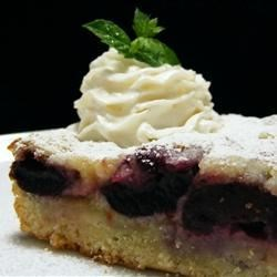 Radio Days Cherry Custard Kuchen Recipe