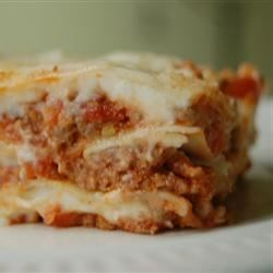 Mom's special homemade lasagna recipe