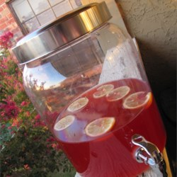 Holiday Red Punch Recipe