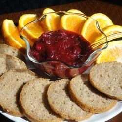 Oranged Cranberry Sauce Recipe