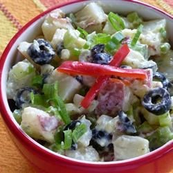 Ripe Olive Potato Salad Recipe