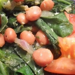 Mustard Greens 'n Beans Recipe