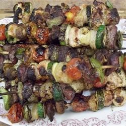 Shish Kabob a la Holly
