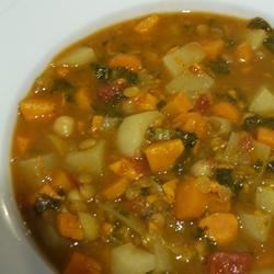 Make-Ahead Vegetarian Moroccan Stew