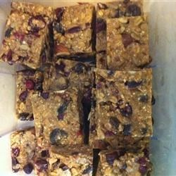 Photo of Peanut Butter Trail Mix Bars  by greenlight