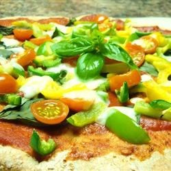 Easy Tomato-Basil Pizza Recipe