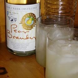 Perfect Pear Brandy Sidecar Recipe